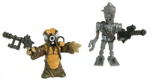 Hasbro 85418 Star Wars Galactic Heroes Mini-Figure 2 Pack - IG-88 & Zuckuss by Hasbro. $9.13. Ages 3 to 8.. Collectible, fun two-pack of cute, stylized characters from Star Wars!. From the Manufacturer                Grab your lightsaber and fire up the engines in your starfighter¿ the Galactic Heroes are here! It's time to blast off to adventures in a galaxy far, far away ¿cause the coolest Star Wars heroes and villains are ready for battle! So head for the stars and get i...