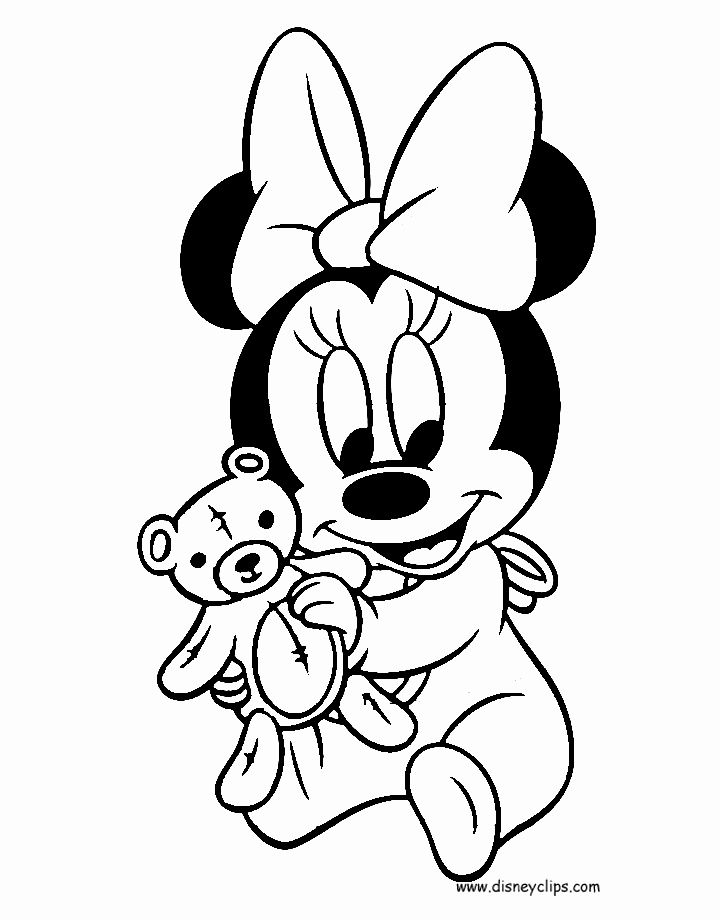 Baby Mickey Mouse Coloring Page Elegant Disney Babies Coloring Pages 3 Minnie Mouse Coloring Pages Mickey Mouse Coloring Pages Mickey Mouse Drawings