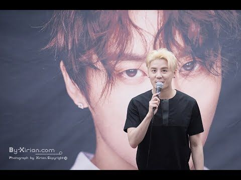 XIA Junsu Look Charming and Handsome at Fan Sign Event at COEX Mall Live...