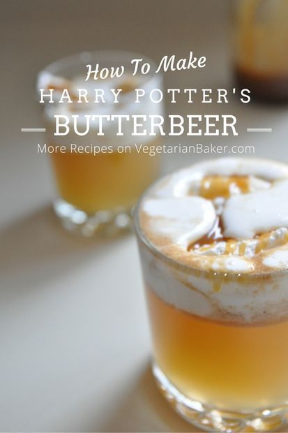 How To Make Butterbeer | Harry Potter Recipe | Instructables
