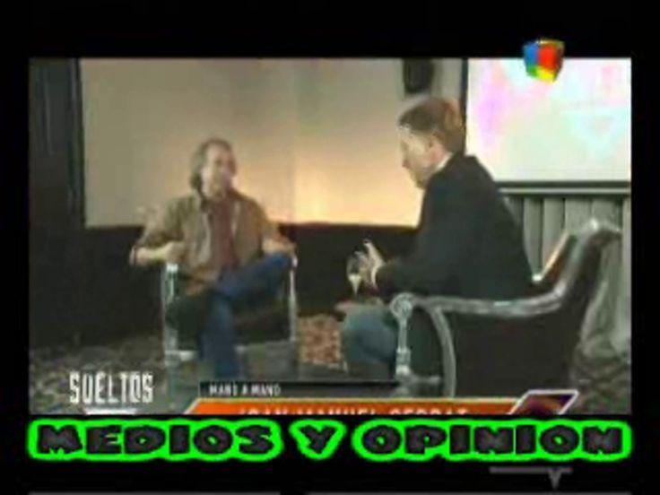 La entrevista de Alejandro Fantino a Joan Manuel Serrat. En Mano a mano. Canal América. Argentina. Octubre 2014