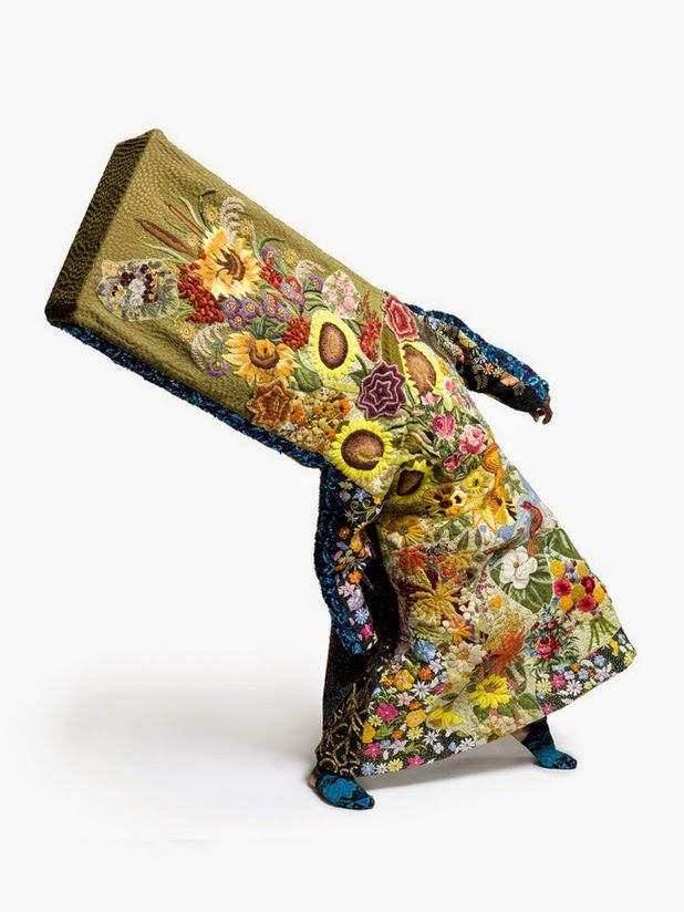 Nick Cave. Humorous look at texture and nature, I like the mix of the humor and the intricate detail