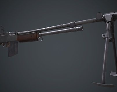 "Check out new work on my @Behance portfolio: ""Browning Automatic Rifle (Low Poly)"" http://be.net/gallery/37429829/Browning-Automatic-Rifle-(Low-Poly)"