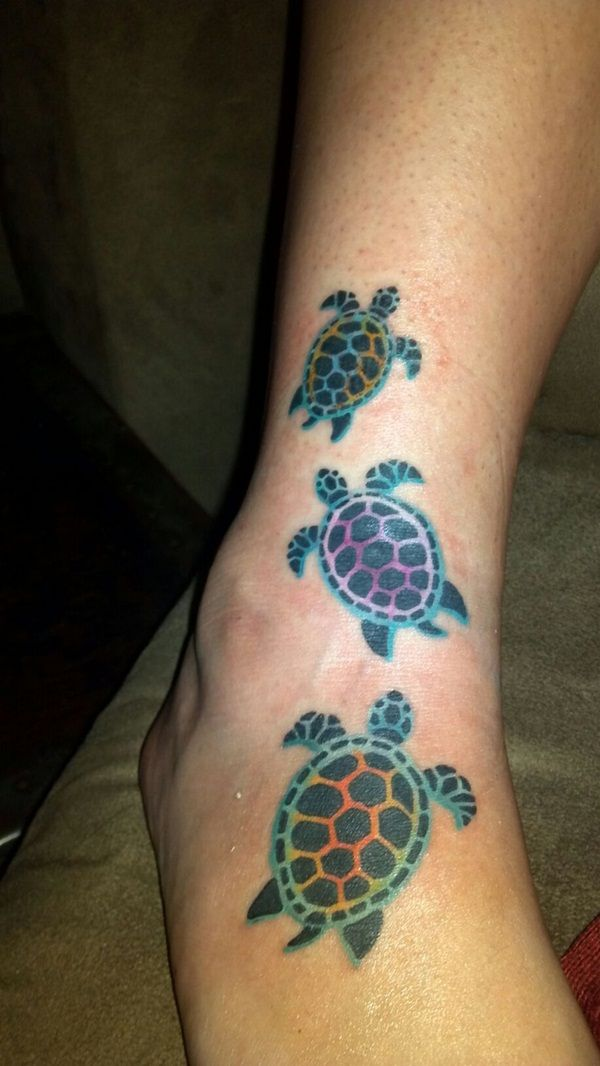 turtle+tattoos+for+women+on+foot | Turtle Tattoo (18)