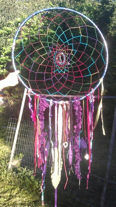 hula hoop dream catcher hooping inspiration pinterest
