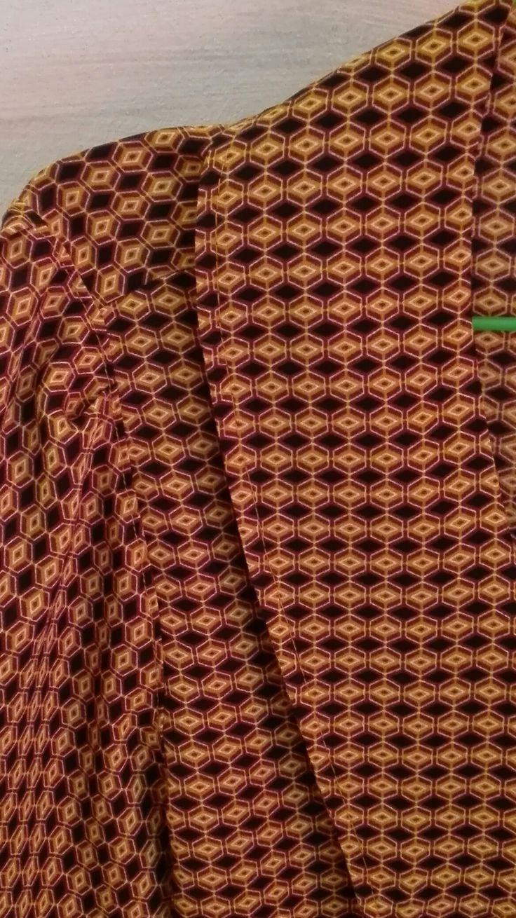 Camicia in viscosa, fatta a mano #handmade