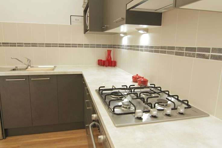 www.wallspan.com.au The Eco kitchen range comes in a selection of environmentally friendly materials and colours.