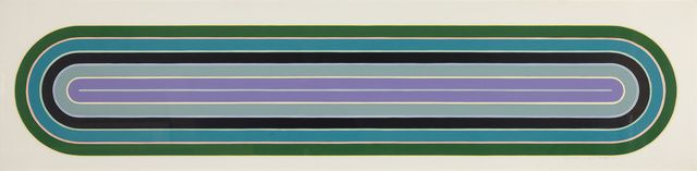 Frank Stella | Los Alamitos From the Racetrack Series (1972) | Available for Sale | Artsy