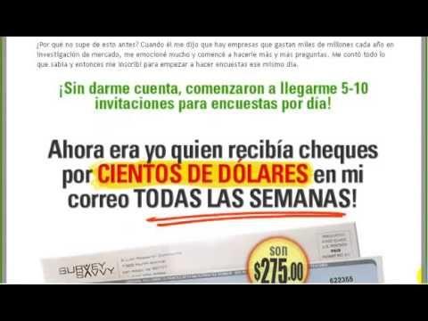 Ganando Dinero Por Encuestas   Spanish Version Of Getcashforsurveys!