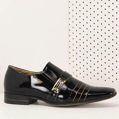 Sapato Social Masculino Rafarillo Premier Gold - Preto