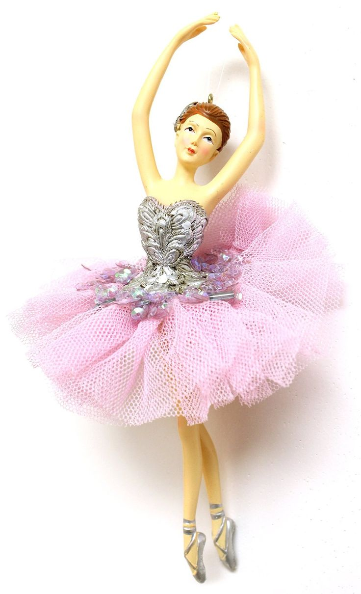Christmas decoration 6 5 ballerina christmas for Ballet shoes christmas decoration