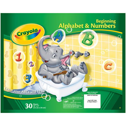 """Love that I got 15% off Crayola® ABC Tables 10"""" x 8"""" from Crayola Store for $2.49."""