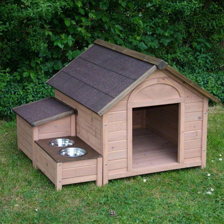 M s de 25 ideas incre bles sobre casas de perros en for Casas de plastico para jardin