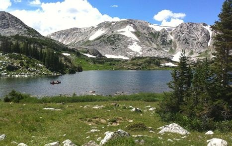 One of my favorite places - Brooklyn Lake, Wyoming