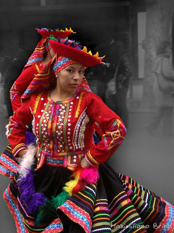 Peruvian dancer I by Maximiliano Brina, via 500px