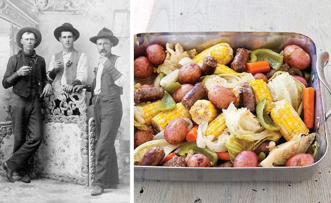 Ever wonder about the origins of the Milk-Can Supper? While the unique food lingo of the cowboys may have changed overtime, see how we've adapted the traditional recipe