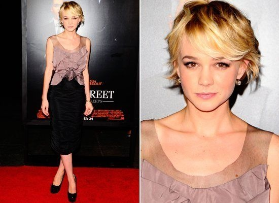 "Nicole Rohr - Carrie Mulligan...I know she'll complain about this, but it's the ""free spirit"" =)"