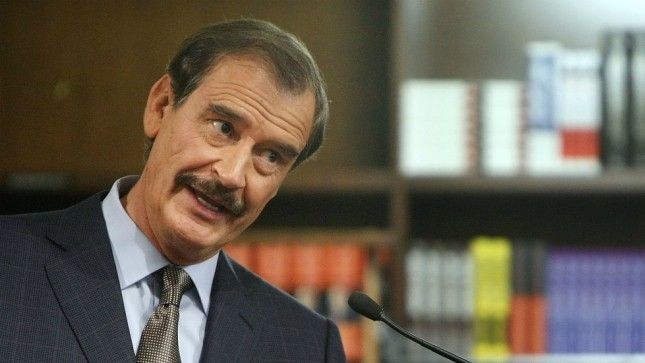 Vicente Fox to Trump: 'You'd be fired' on TV