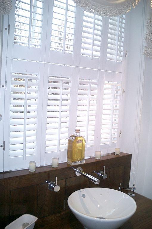 Bathroom Windows London 65 best tier on tier shutters images on pinterest | window shutter