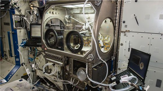 宇宙ステーションで足りない工具を地上からデータ送信し3Dプリンター経由で送り込むことにNASAが成功 - GIGAZINE