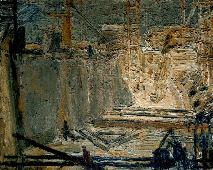 Frank Auerbach: Shell Building Site