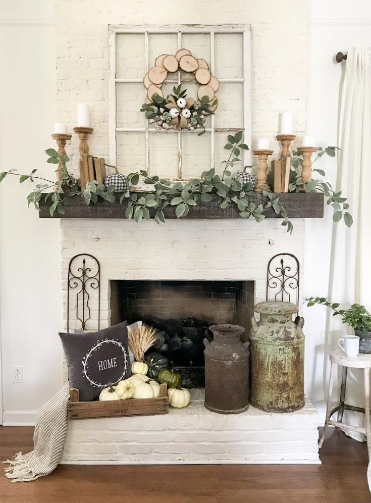 Absolutely Stunning Ways to Decorate Your Mantel for