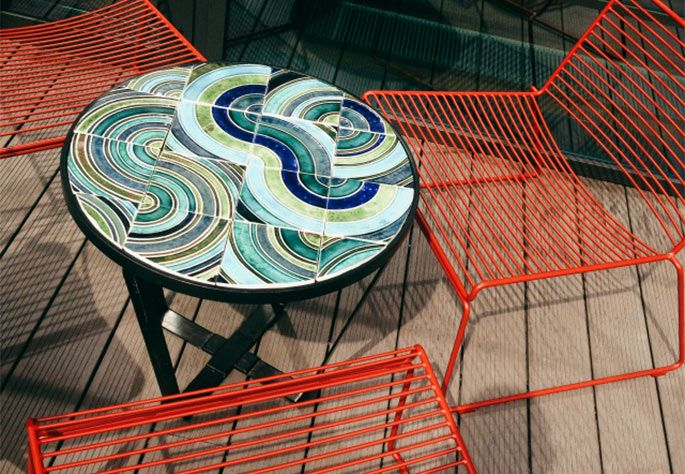 Caldas Round coffee tables by Mambo Unlimited Ideas at Puro Hotel in Poznan