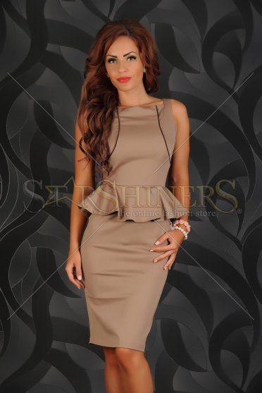 Rochie PrettyGirl Orphic Elegance Brown