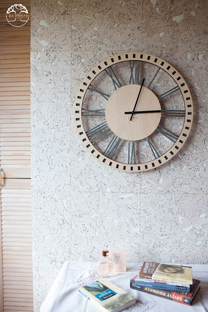 "Wooden wall clock "" Classic""  by BAOBAB"