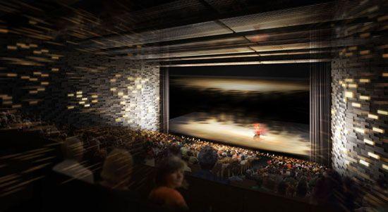 dominique perrault: grand theatre d'albi