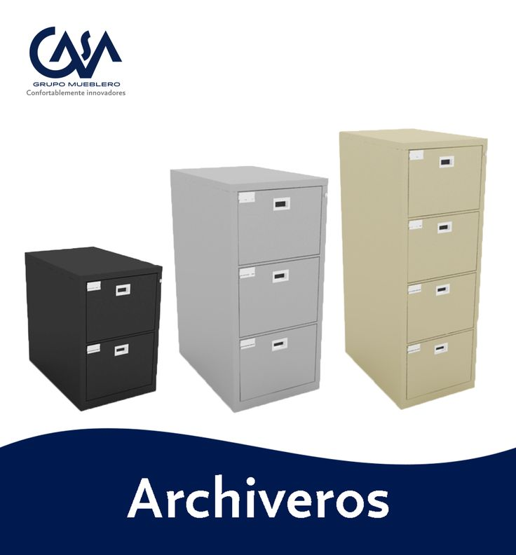 Archiveros para Oficina #office #furniture