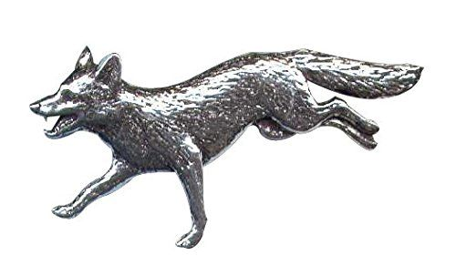 Bisley Pewter Pin - Running Fox: Amazon.co.uk: Kitchen & Home