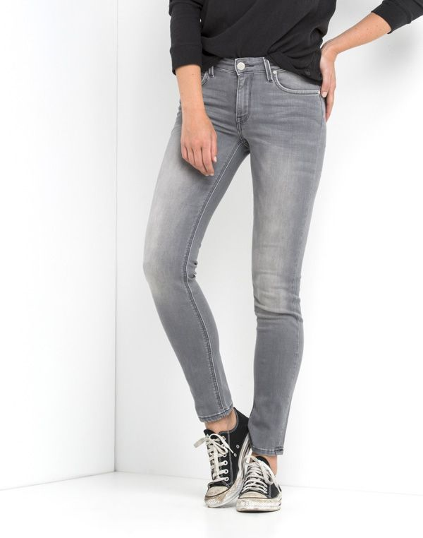 Scarlett Regular Waist Skinny | Used Grey