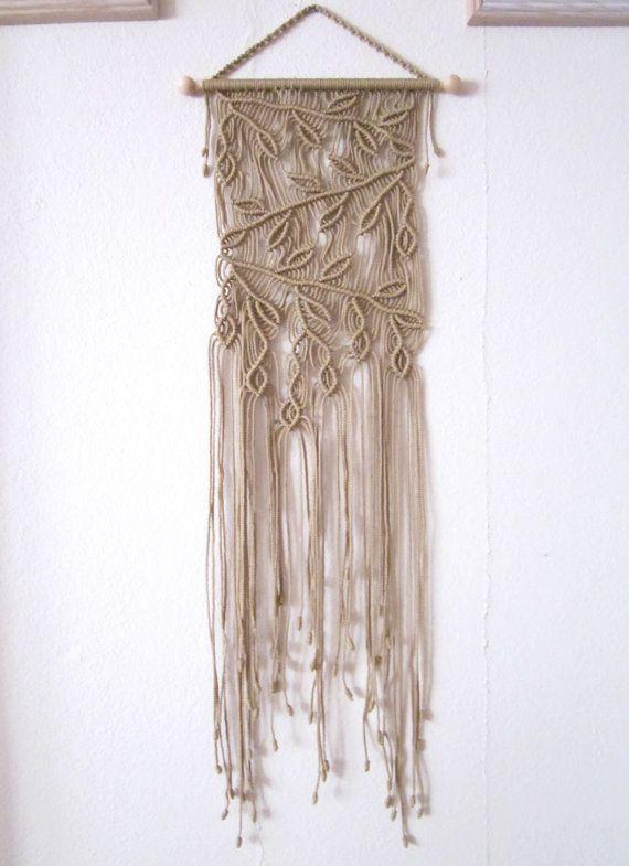 Handmade Macrame Wall Handing - Branches