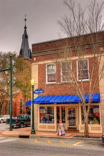 New Bern, North Carolina    Birthplace of Pepsi