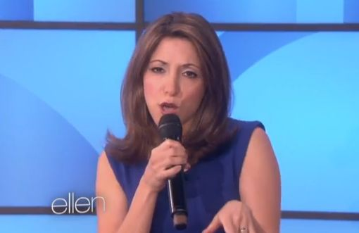 """Comedian Christina Bianco became a viral success after she posted a YouTube video of herself singing """"Total Eclipse of the Heart"""" while impersonating a number of female singers. Bianco recently took her talents and Cher impression all the way to Los Angeles to perform for the one and only Ellen Degeneres."""