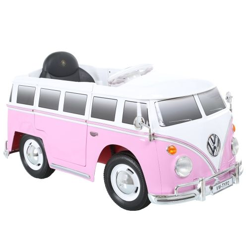 6v volkswagen camper van bus in pink t1 trapauto pinterest toys buses and volkswagen. Black Bedroom Furniture Sets. Home Design Ideas