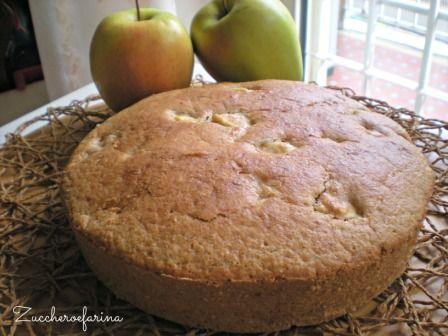 Torta di mele light e vegana