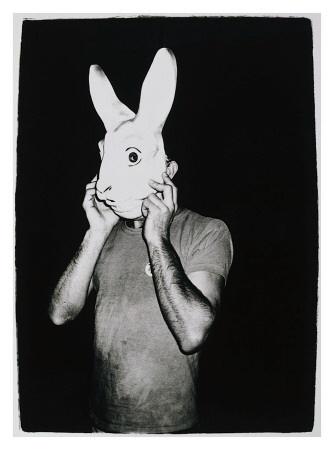 Andy Warhol - Man with Rabbit Mask (1979): C 1979 Giclee, Warhol Man, Art, Masks, Andy Warhol, Products, Photo