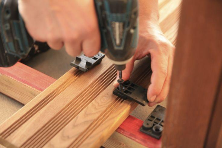 invisible Happax fixing Pro  Terrasse en bois HAPAX  Pinterest