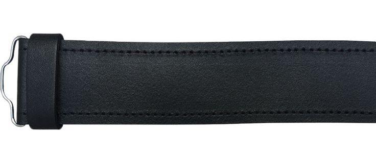Scottish Highland Black Plain, Leather Kilt Belts #AllSafe #BeltKilt