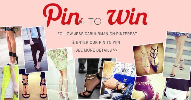 JESSICABUURMAN: PIN to WIN Giveaway Contest - JESSICABUURMAN