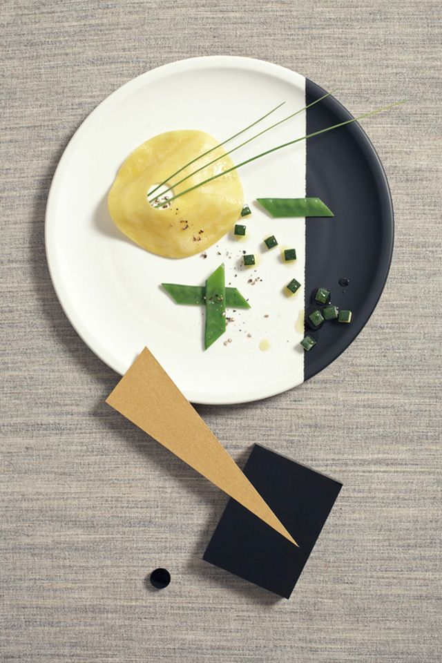 Bauhaus Food Photography by Nicky | Yellowtrace.