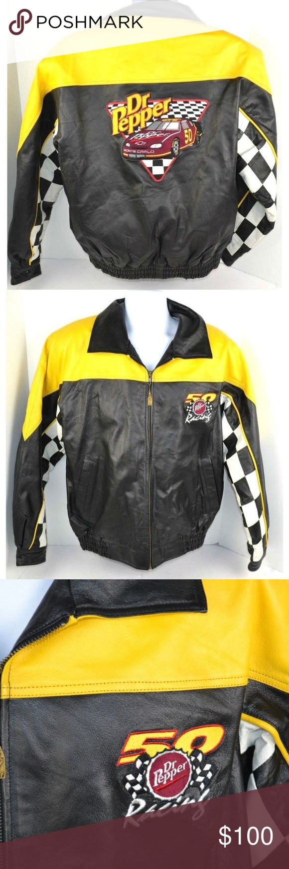 Dr. Pepper Limited Edition Leather Jacket Dr. Pepper