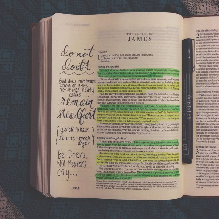 James // Journal Bible