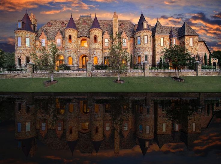 Castle styled mansion located at 1161 La in Mirada, Southlake, Texas 76092