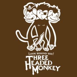 Three Headed Monkey!