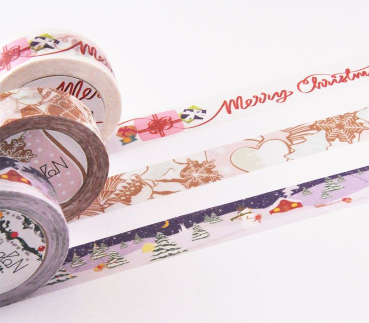 Holiday Washi Tape Gift Box | Design by NOJD