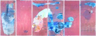 """Saatchi Art Artist ALINA FEDOTOVA; Painting, """"Way to the sea"""" #art"""