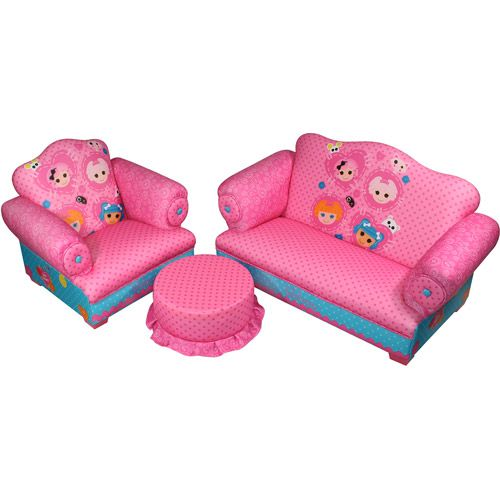 Lalaloopsy Sofa, Chair and Ottoman Set (obviously too expensive but its cute!)